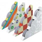 Dekoratív légyfogó, rovarcsapda 4 mintával, ablakra, Swissinno