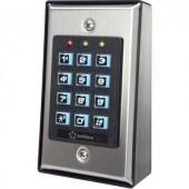 Falra szerelhető kódzár 12 V/DC IP50, Renkforce