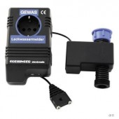 Vízszivárgás riasztó, áram és vízátfolyás lekapcsolással, 80 dB/1 m, Greisinger 105140