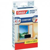 TESA® COMFORT szúnyogháló ablakra, 1,3 x 1,5 m, antracit