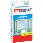 TESA® STANDARD szúnyogháló ablakra, 1,3 x 1,5 m, fehér