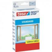TESA® STANDARD szúnyogháló ablakra, 1,5 x 1,8 m, fehér