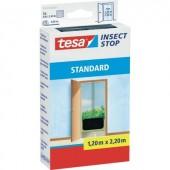 TESA® STANDARD szúnyogháló ajtóra, 2,2 x 1,3 m, antracit, 55679-21