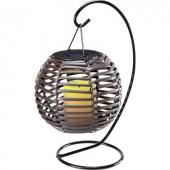 Napelemes dekorációs világítás 0.08 W Borostyán Polarlite MEGA Barna