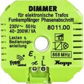Vezeték nélküli dimmeres vevő, 1 csatornás, Free Control