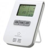 Vezeték nélküli fali termosztát, 3 csatornás, max. 150 m hatótáv, RS2W