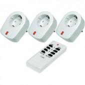 RSL vezeték nélküli kapcsoló, köztes dugalj készlet, 4 részes, max. 30 m