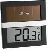 Digitális napelemes hőmérő TFA Eco Solar