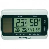 Napelemes digitális hőmérő és páratartalom mérő, Techno Line WS 7007