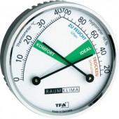 Analóg hőmérő és páratartalom mérő komfort jelzéssel, TFA 452024