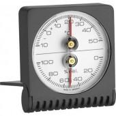 Összecsukható analóg hőmérő és páratartalom mérő, TFA 7601