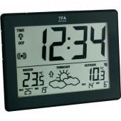 Vezeték nélküli időjárásjelző állomás, fekete, TFA 35-1125-01-IT