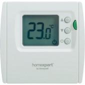 Digitális fali szobatermosztát, 5...35 °C, fehér, Homexpert by Honeywell THR840DBG