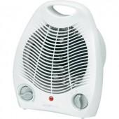 Elektromos fűtőventilátor, 1000/2000W, 16 m², fehér, Clatronic HL 3378