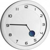 Analóg kvarc falióra 28 x 1,5 cm, fém/ezüst, TFA 60.3028.54