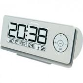 Rádiójel vezérelt digitális ébresztőóra hőmérővel, 188 x 80 x 50 mm, Techno Line WT 498