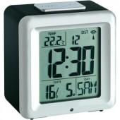 Rádiójel vezérelt digitális ébresztőóra hőmérővel, 86x86x62 mm, TFA Cube 60.2503