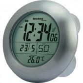 Rádiójel vezérelt fürdőszobai óra, (Ø) 172 x 54 mm, ezüst, Techno Line WT 3000
