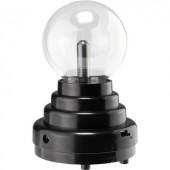 Effektlámpa, mini plazmagömb, fekete, Basetech 1613070