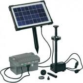 Napelemes, LED-es szökőkút szivattyú rendszer Esotec Palermo LED 101775