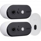 ABUS Akku Cam PPIC90200 WLAN IP-Megfigyelő kamera készlet 2 db kamerával 1920 x 1080 pixel