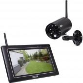 ABUS OneLook PPDF16000 Vezeték nélküli-Megfigyelő kamera készlet 4 csatornás 1 db kamerával 1920 x 1080 pixel 2.4 GHz