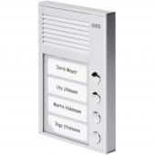 Auerswald 90637 Kaputelefon Vezetékes Komplett készlet 4 családiház Ezüst