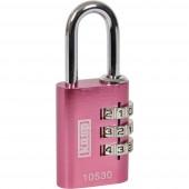 Kasp K10530PIND Függő lakat 30 mm Rózsaszín Számkódos zár