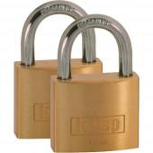 Kasp K12040D2 Függő lakat 40 mm Arany-sárga Kulcsos zár