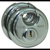 Kasp K16070D2 Függő lakat Ezüst Kulcsos zár