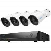 Reolink RLK8-410B4 LAN IP-Megfigyelő kamera készlet 8 csatornás 4 db kamerával 2560 x 1920 pixel