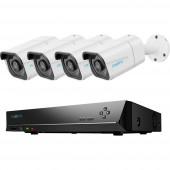 Reolink RLK8-800B4 rlk8b4 LAN IP-Megfigyelő kamera készlet 8 csatornás 4 db kamerával 3840 x 2160 pixel