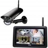 Switel HS2000 Vezeték nélküli-Megfigyelő kamera készlet 720 pixel 2.4 GHz
