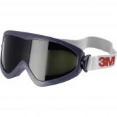 Teljes védőszemüveg 3M 2895s Fekete, Fehér DIN EN 169