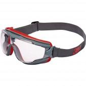 Teljes védőszemüveg 3M Goggle Gear 500 GG501V Szürke, Piros