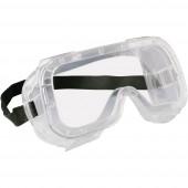 Teljes védőszemüveg EKASTU Sekur 277 381 Fekete DIN EN 166-1