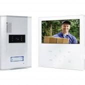 Vezetékes video kaputelefon rendszer, 1 családi házhoz, Smartwares VD71W SW1