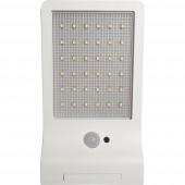 Müller Licht 21000006 Napelemes kültéri fali lámpa mozgásjelzővel 3 W Nappalifény-fehér Fehér