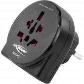 Ansmann 1250-0011 Úti adapter World to EU