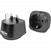 Ansmann 1250-0031 Úti adapter EU to UK