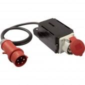 Bekapcsolási áram korlátozó, 400V, IP44, fekete, AS Schwabe 60740