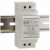 Mean Well ICL-16R A MEANWELL bemeneti áramkorlátozó sorozat: ICL-16R / L induktív és kapacitív terhelésekhez Szürke II