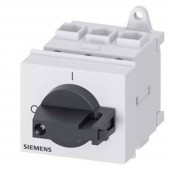 Megszakítók Fekete 3 pólusú 16 mm² 32 A 690 V/AC Siemens 3LD22300TK11