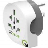 Q2 Power 1.100140 Úti adapter Welt nach USA