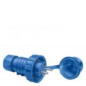 Siemens 5UH1150 Földelt csatlakozódugó IP68 Kék