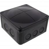 Wiska 10062215 Leágaztató doboz (H x Sz x Ma) 140 x 140 x 82 mm Fekete (RAL 9005) IP66/IP67 1 db