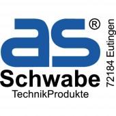 as - Schwabe 70522 Áram Csatlakozókábel Fekete 3.00 m