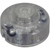 interBär 8020-008.01 Zsinórkapcsoló gomb Fehér 1 x KI/(BE) 2 A 1 db