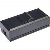 interBär 8075-004.01 Zsinórkapcsoló Fekete 1 x KI/BE 2 A 1 db