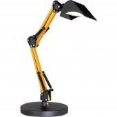 ACTION SCOOP 811901426000 LED-es asztali lámpa 4 W Fekete, Sárga